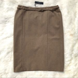 Talbots Skirt Pencil Straight Size 16 Plus Career
